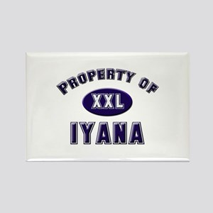 Property of iyana Rectangle Magnet
