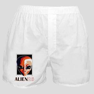 Alien26_blnkt Boxer Shorts