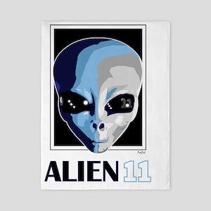 Alien11_blnkt Twin Duvet