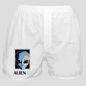 Alien11_blnkt Boxer Shorts