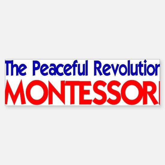 Peaceful Revolution Bumper Bumper Bumper Sticker