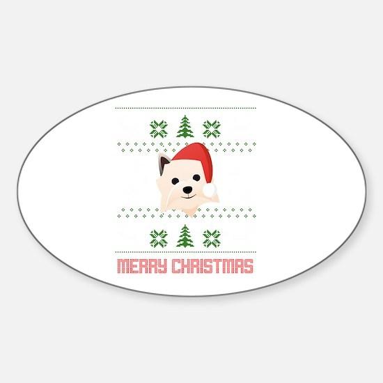 Cairn Terrier Santa Snow Christmas T-Shirt Decal