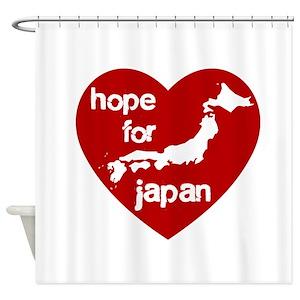 Japan Tsunami Shower Curtains