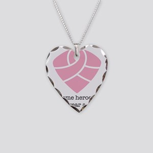 Someheroesdontwearcape Necklace Heart Charm