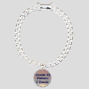 I_TEACH8x11 Charm Bracelet, One Charm