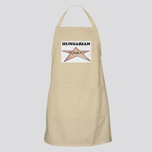 Hungarian and proud of it BBQ Apron