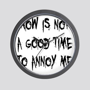 annoy-me2 Wall Clock