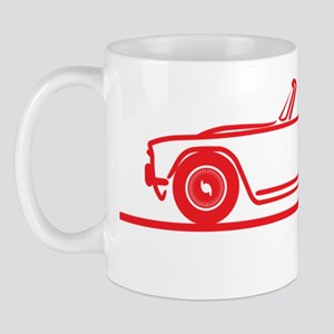 TR4 1968_red Mug