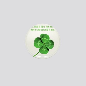 4leafcloverfriend Mini Button