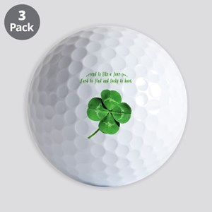4leafcloverfriend Golf Balls