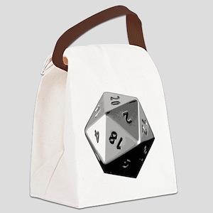 D20 Canvas Lunch Bag