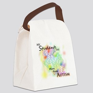 morethanautism2-students Canvas Lunch Bag