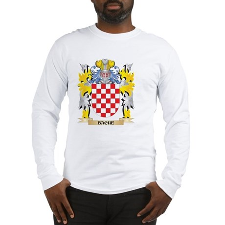 Bache Coat of Arms - Family Cr Long Sleeve T-Shirt