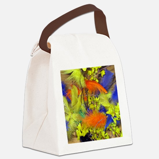 Pask001-Square2 Canvas Lunch Bag