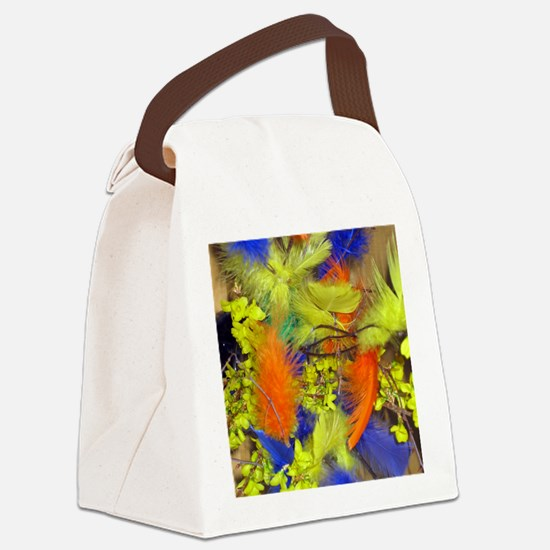 Pask001-Vert Canvas Lunch Bag