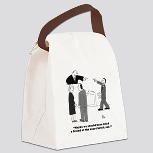 Friend of the Court Canvas Lunch Bag
