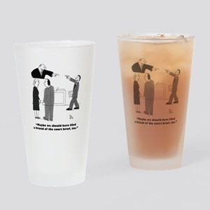 Friend of the Court Drinking Glass