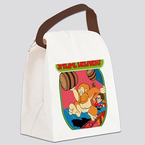 kong Canvas Lunch Bag