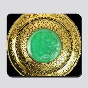 gold_and_jade_antique_watch_apparel_1800 Mousepad