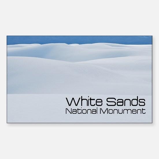 whitesands1a Sticker (Rectangle)