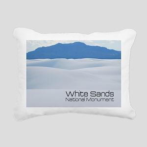whitesands1a Rectangular Canvas Pillow