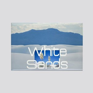 whitesandssq Rectangle Magnet