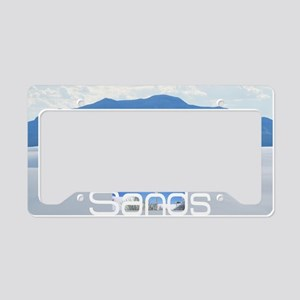 whitesandssq License Plate Holder
