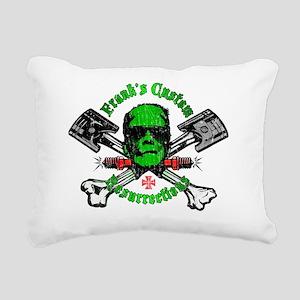 FranksCustomRes_DISTRESS Rectangular Canvas Pillow