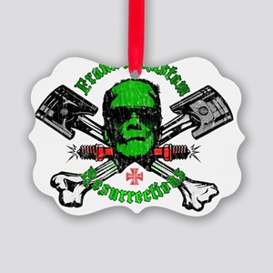 FranksCustomRes_DISTRESS Picture Ornament