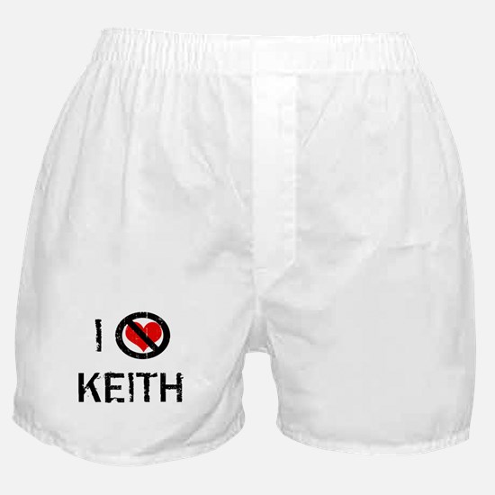 I Hate KEITH Boxer Shorts