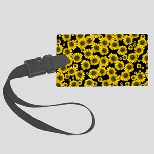 Sunflowers Large Luggage Tag