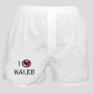 I Hate KALEB Boxer Shorts