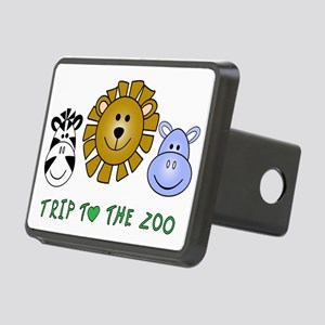 Trip to the Zoo Rectangular Hitch Cover