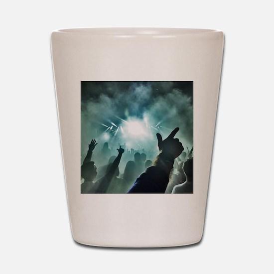 Pointtothesky large Shot Glass