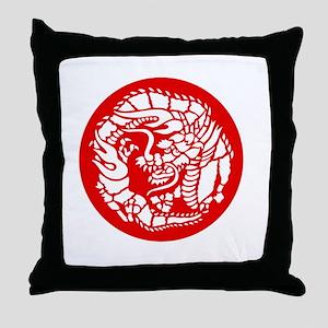Dragon - dk Throw Pillow