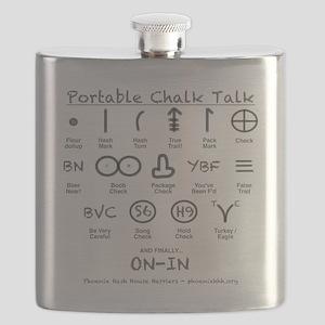 Portable Chalk Talk Flask