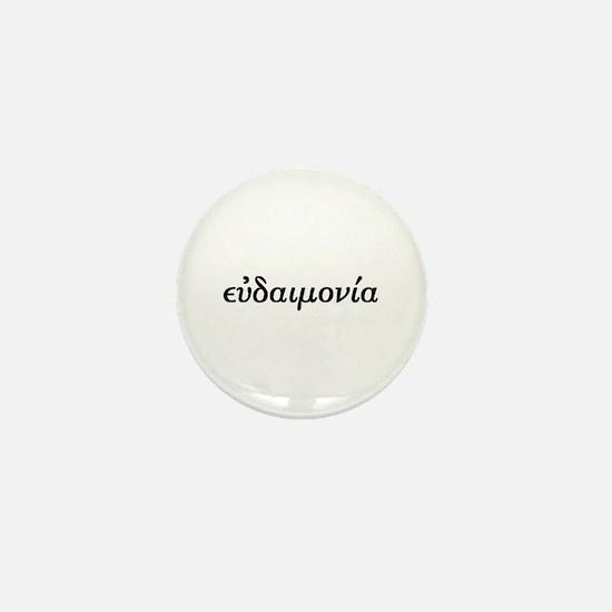 Eudaimonia Mini Button