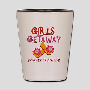 GIRLSGETAWAY2011 Shot Glass
