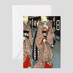 h007 Greeting Card