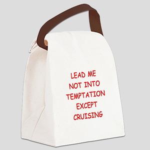 cruising Canvas Lunch Bag