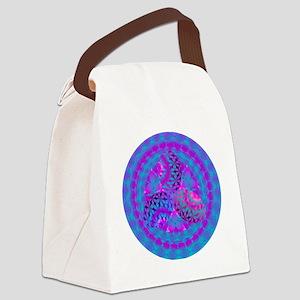 EASTER_EGG_FRACTAL Canvas Lunch Bag