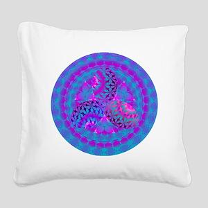 EASTER_EGG_FRACTAL Square Canvas Pillow