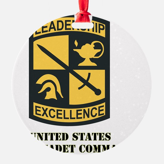 SSI-ARMY CADET COMMAND WITH TEXT Ornament