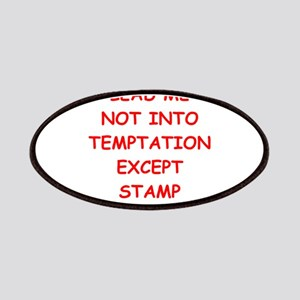 stamp collecting Patches