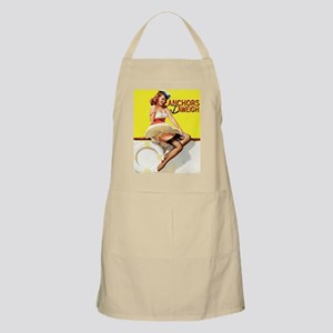 anchors aweigh yellow mousepad Apron
