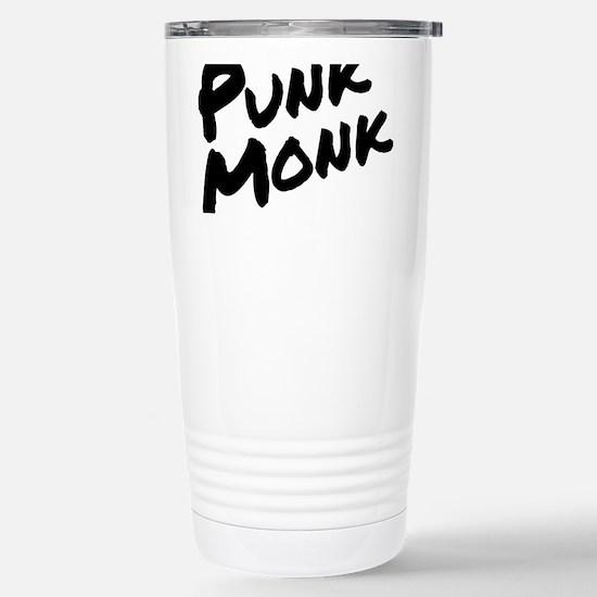 Punk Monk Stainless Steel Travel Mug