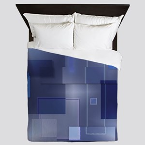 20110318-Chopped-Blue-v002-sig-v01-7M Queen Duvet