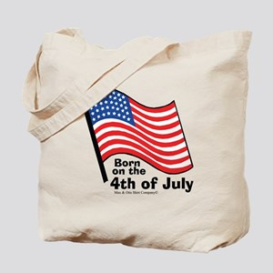 born-on-4th-of-july Tote Bag