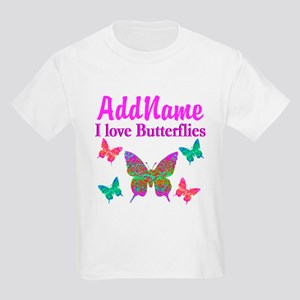 LOVE BUTTERFLIES Kids Light T-Shirt