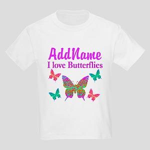 LOVE BUTTERFLIES Kids Light T-Shirt